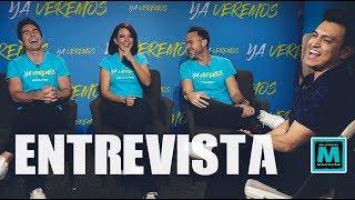 YA VEREMOS - Entrevista con los protagonistas de la película.