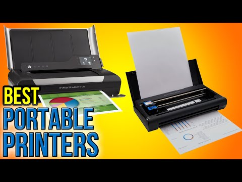 6 Best Portable Printers 2016