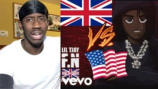 IS THIS A TREND FOR THE UK COMMUNITY! | Lil Tjay   F.N (UK Remix) Ft. DigDat | Reaction