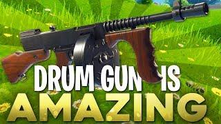 Fortnite In Depth: Drum Gun Is Amazing!