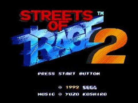 Streets Of Rage II - Arcade Version - Tubers High Score Challenge