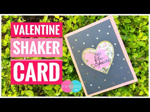 How To Make Shaker Cards At Home