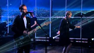 The Naked and Famous 'Hearts Like Ours' live on The late Late Show