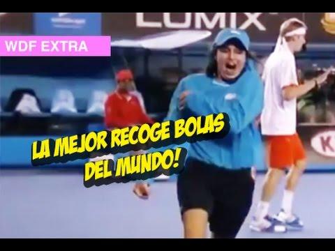 La Mejor Recoge Bola del Mundo! #whatdafaqshow