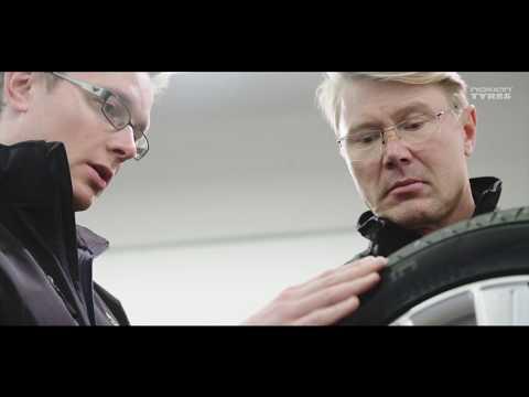 Финландци направиха гуми за състезатели