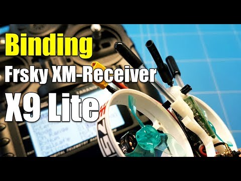 How To BIND XM and XM+ Receiver To Frsky Taranis X9 Lite OpenTX and D16