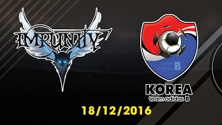 [18.12.2016] [EA CCW 2016] IMPUNITY vs TEAM ADIDAS B [Semi Final 2]