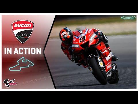 Ducati in action: Monster Energy Grand Prix České republiky