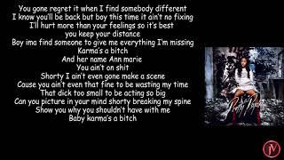 Ann Marie - Karma- LYRICS - YouTube