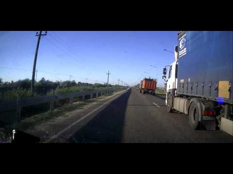 В Крыму отцепился на ходу прицеп с металлоломом