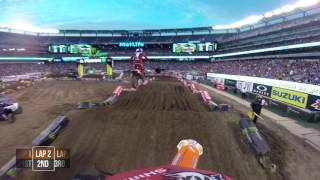 Watch crossover athlete Davi Millsaps Main Event from round 16 of the