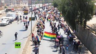 Protestas Por El Aplazamiento Electoral En Bolivia
