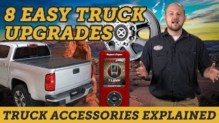 8 Easy Upgrades For Your New Truck | Truck Accessories Explained
