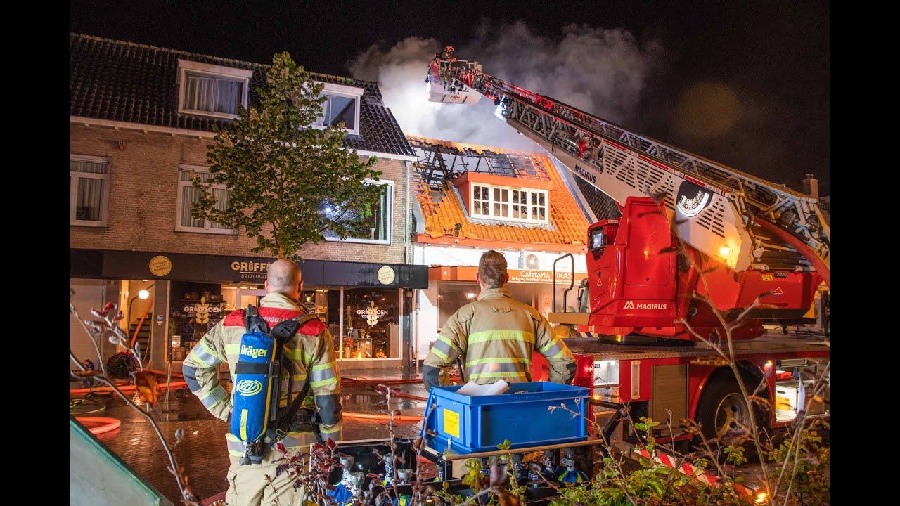 Grote brand in Cafetaria Vikas Harmelen