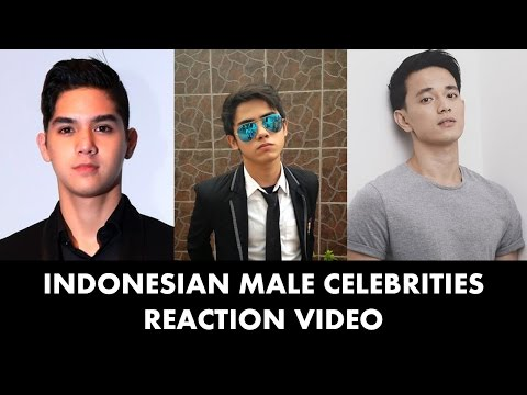 Indonesian Male Celebs Reaction Tampan Indonesia