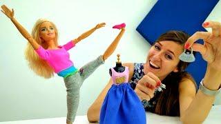 Nueva ropa para Barbie. Juegos de vestir muñecas.