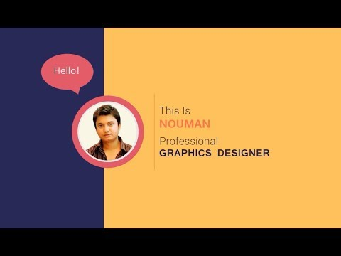 Motion Graphic portfolio Video | Graphic Design Portfolio | Presentation
