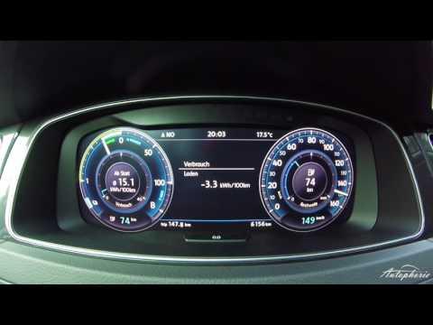 2017 VW e-Golf Facelift (100 kW / 136 PS): Beschleunigung 0 - 156 km/h - Autophorie