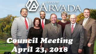 Preview image of City Council Meeting - April 23, 2018