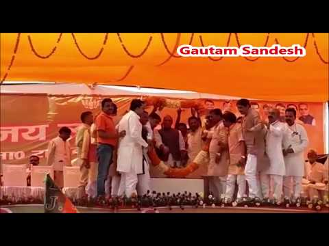 सपा-बसपा का उद्देश्य सिर्फ मोदी को रोकना है: राजनाथ सिंह