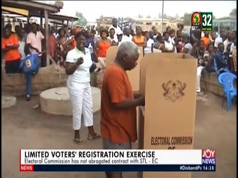 Limited Voters' Registration Exercise - The Pulse on JoyNews (20-5-19)