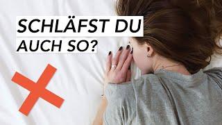 Diese Schlafposition Solltest Du Unbedingt Vermeiden! | Liebscher & Bracht