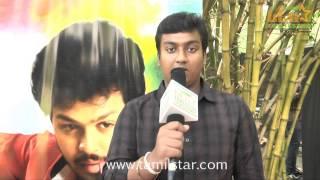Logeshwaran at Manam Mayanguthey Movie Team Interview