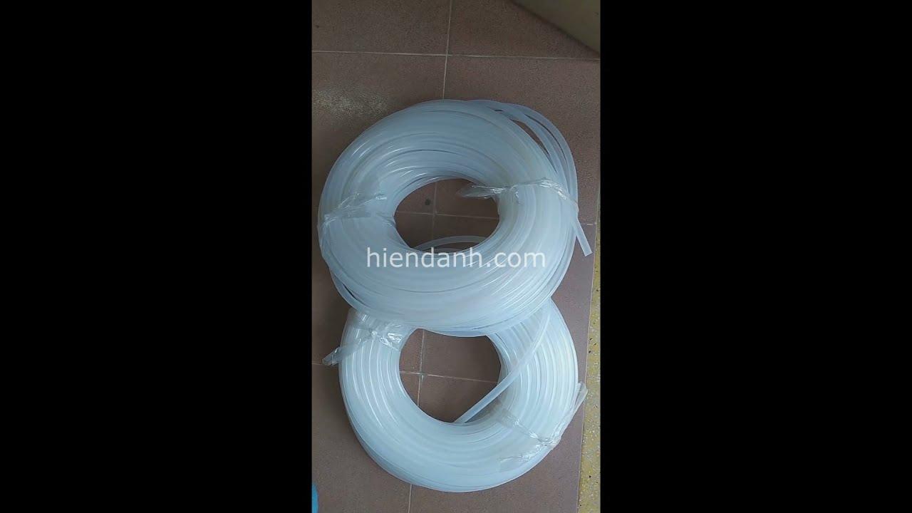 Ống silicone chịu nhiệt D6xD10