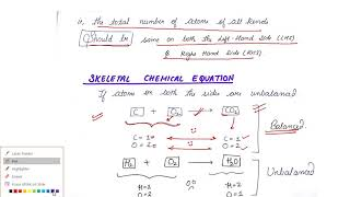 Chemical Reactions And Equations 6 Balancing Reactions