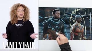 Black Panther's Costume Designer Breaks Down T'Challa's Entrance Scene | Vanity Fair - Video Youtube