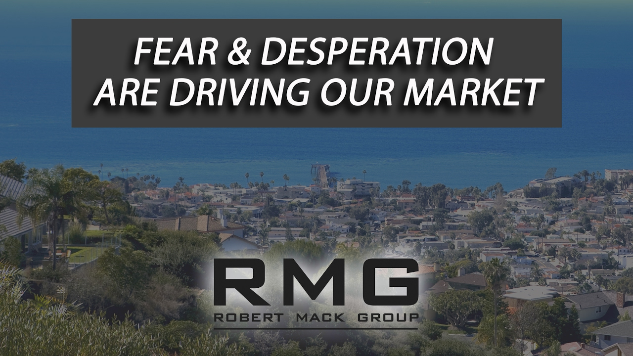 Fear & Desperation Are Driving Our Market