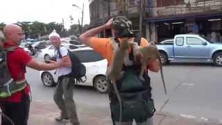 preview picture of video 'Lopburi, l'attacco delle scimmie'