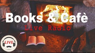 Cozy Jazz & Bossa Nova Music With Fireplace - 24/7 Live Stream - Relaxing Cafe Music