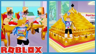 Buying The $10,000,000 Shrine & Royal Bundle In Roblox My Restaurant