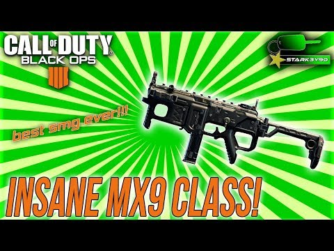 POSSIBLY the BEST SMG in COD BO4! (Best MX9 Class Setup