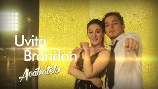 Uvita y Brandon Meza la pareja más esperada