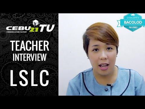 バコロドLSLC校の講師、Paulineのインタビュー  :  フィリピン留学 CEBU21
