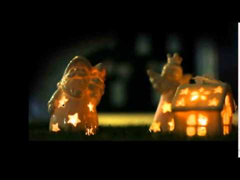 Illuminated LED Porcelein Figurines Video