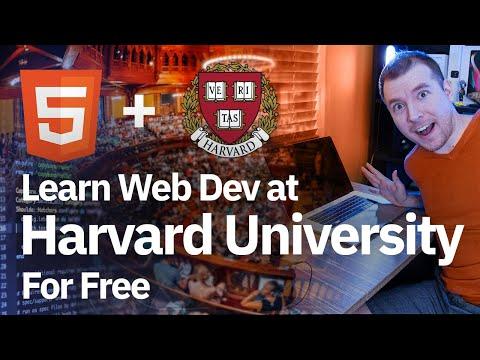 Learn Web Development at Harvard University for Free