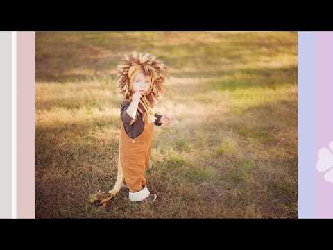los mas lindos disfraces de leon para niños