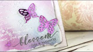 Crafter's Companion - Sara Signature - Flutterby Collection Inspiration