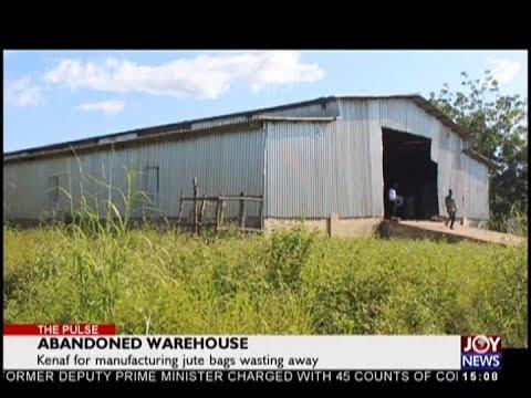 Abandoned Warehouse - The Pulse on JoyNews (19-10-18)