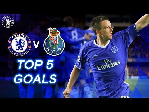 Chelsea v FC Porto | Top 5 Goals Ft. John Terry Andriy Shevchenko & More
