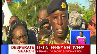 Recovery mission of two bodies suspended again in Likoni