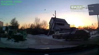 Самара  Пьяное быдло на автомобиле   ДТП авария