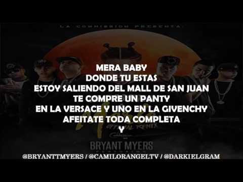 De camino a marte remix (letra) BRYANT MYERS FT ALMIGHTY,BRYTIAGO, DARKIEL,JUANKA