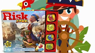 Risk Junior how to play board game? Hasbro games my first Risk