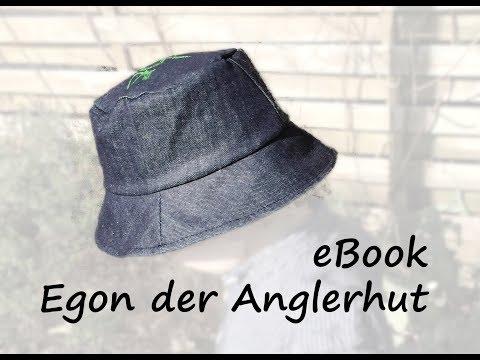 Anleitung zum eBook Egon der Anglerhut | bunte-Nähigkeiten | Nähanleitung | Sonnenhut
