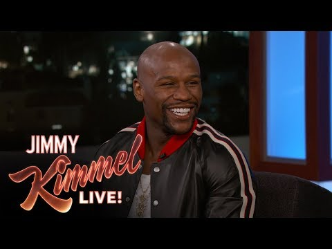 Jimmy Kimmel & Floyd Mayweather Analyze Fight Prop Bets