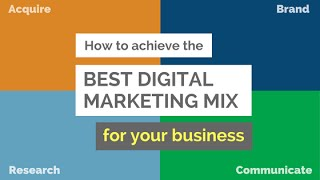 Choosing the Right Digital Marketing Mix for Your Canadian Business